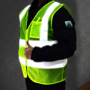 (가드맨) 가드맨 고휘도형광안전조끼 반사 망사 야광 작업 조끼