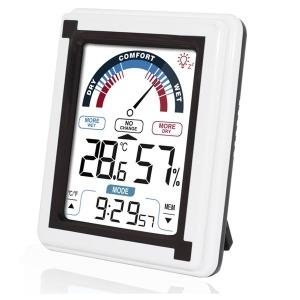 KR-20HTC 정밀 온습도계/온도계/알람/시계/테스터기