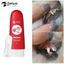 강아지/고양이용품 치카치약딸기+칫솔세트 치석제거