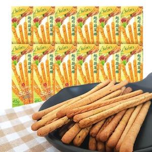 12곽(스틱과자 240개입내외) 비스코타 치즈 야채스틱