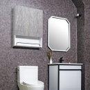 스톤 골드 오픈 욕실 수납장 590x800x170