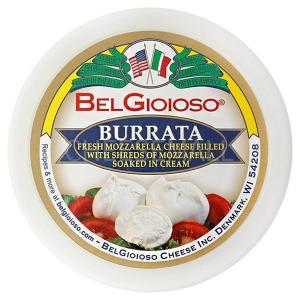 벨지오이오소 부라타 치즈 226g (4알)