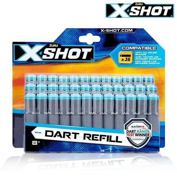 아이비젼  X-SHOT 엑셀 리필 36팩