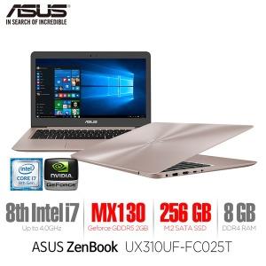 ZenBook UX310UF-FC025T i7/8GB/256GB/Win10/MX130