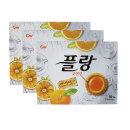 플랑 오렌지 160g 플랑 오렌지 160g 3개