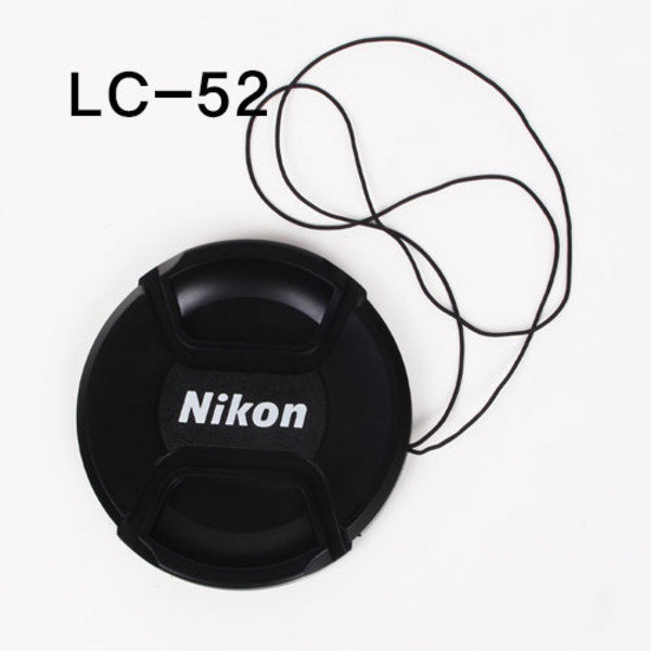 Nikon LC-52 호환 스냅온 렌즈 캡