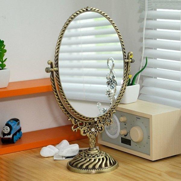 파도 탁상거울 대 신주 메이크업거울 화장대거울 화장