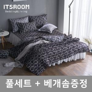 {베게솜무료증정} 이불+패드+베개커버/이불세트
