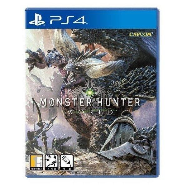 PS4 몬스터헌터 월드 국내정식발매 한글 상태좋은중고