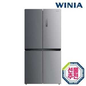 공식인증 위니아 중형냉장고 WRB480DMS 4도어 479리터