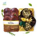 영지버섯1kg (원형+절편) 선물세트 추석선물 명절선물
