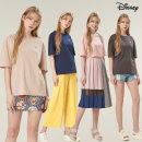 1+1 디즈니 여자 베이직 티셔츠 2장 EASY 루즈핏 반팔