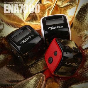 ENA-7000 레드 무선카팩 핸즈프리 충전식FMT