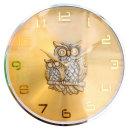 황금부엉이 벽시계 RX골드 인테리어 벽걸이시계 (특가)