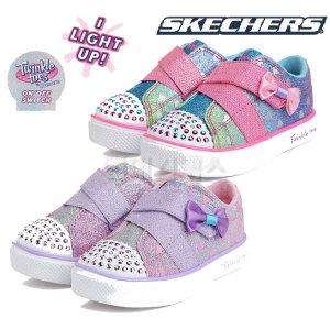 (현대백화점)스케쳐스 SK0GL18Y711 트윙클 브리즈 2.0 키즈 유아용 반짝이 벨크로 남아용 여아용 신발 아동