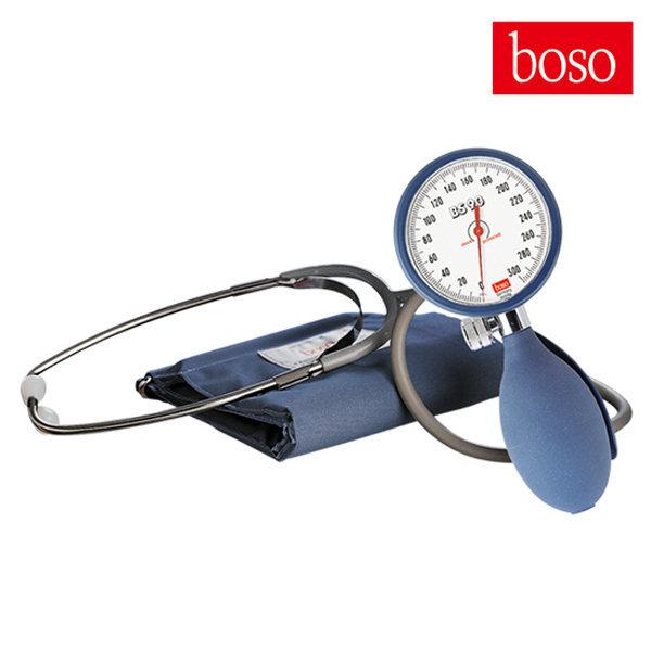 독일 BOSO 아네로이드 혈압계 BS90 223/청진기일체형