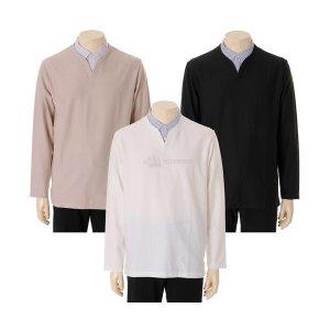19 F/W   남  셔츠 슬릿 티셔츠 (EPZ3TR1306)(갤러리아)