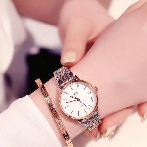 캐쥬얼 데일리 메탈밴드 여자 손목시계 남녀 커플시계