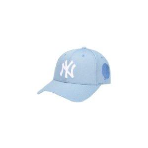MLB  뉴욕양키스 라운드패치 커브캡 (32CP13911 50S)(갤러리아)