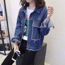여성 가을 청 데님자켓 루즈핏 캐주얼자켓 데님코트14