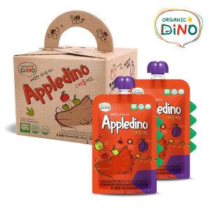 깨끗한 유기농 주스 애플디노 10팩