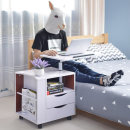 마이홈 서랍형 사이드테이블(화이트)/침대 테이블