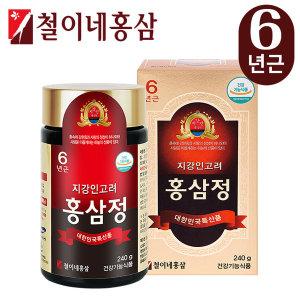 철이네홍삼 / 지강인 고려홍삼정(240g).6년근 홍삼