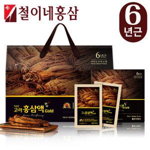 철이네홍삼/ 지강인 고려홍삼액골드(100ml  30포)
