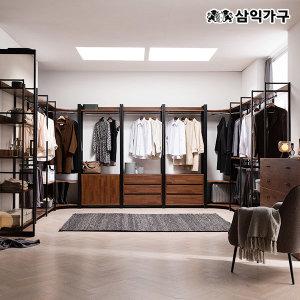 더뉴 멀바우 철제 드레스룸 시리즈