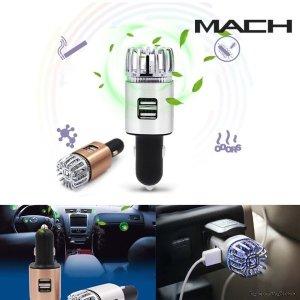 차량용 공기청정기 담배냄새제거 시거잭 겸용 USB충전