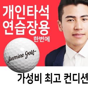 개인타석 스크린연습장 로스트볼 컨디션굿 중고골프공