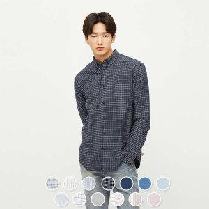 (현대Hmall) 지오다노  048301 옥스포드 셔츠 (패턴)