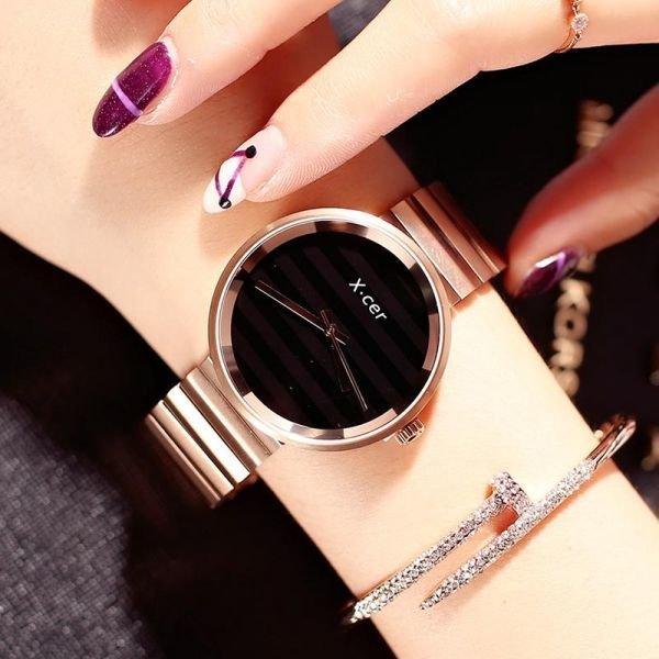 여성손목시계 모던심플 방수 메탈벤드 시계 패션와치