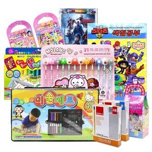 어린이집생일선물 단체선물 유치원 색연필 색종이