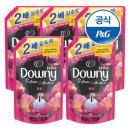 초고농축 다우니 퍼퓸 섬유유연제 핑크 블룸 1.6L 5개