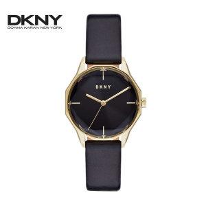 NY2796 도나카란뉴욕 DKNY 시티스파이어 가죽시계