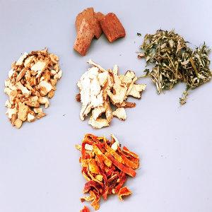 쑥혈차 재료 말린생강 당귀 계피 쑥 진피 5종 각300g