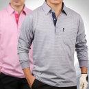 시니어를 위한 국내산 고품위 면실켓 긴팔 카라티셔츠
