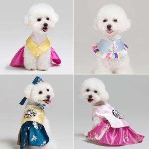 메종드독 강아지 옷 한복 (국내 핸드메이드)