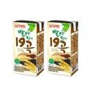 발아현미19곡 두유 190ml 96팩 건강음료 선물
