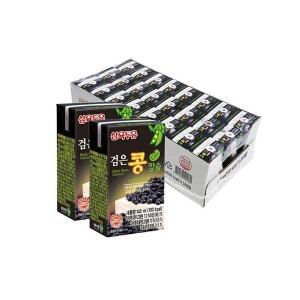 삼육두유 검은콩칼슘두유 140ml 96팩 검은콩두유