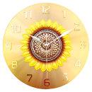 황금해바라기 벽시계 인테리어 벽걸이시계 (가을신작)