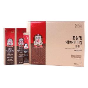 정관장 홍삼정 에브리타임 밸런스/홍삼스틱 /20포