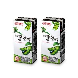 삼육두유 검은콩참깨두유 96팩/검은콩두유