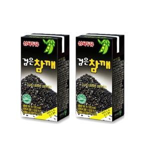 삼육검은참깨두유/96팩x190ml/100%유기농 검은참깨