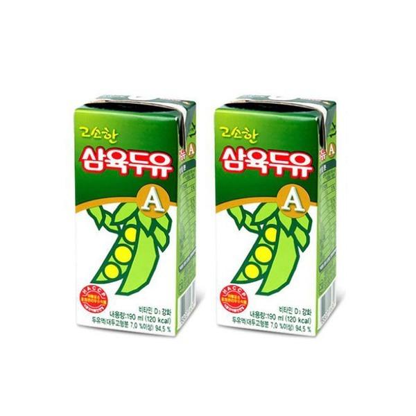 삼육두유 A(고소한맛)/96팩x190ml(125kcal)