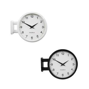 하이모리 타임데코 모던 양면벽시계 심플 A5저소음