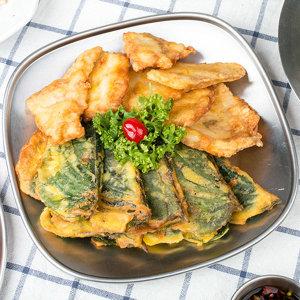 태현푸드 생깻잎전 400g / 냉동 간편조리 식품