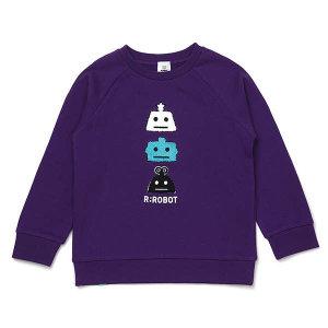 (현대백화점)알로봇5 (PU)로봇프렌즈맨투맨(19A19-334-03)R.ROBOT티셔츠