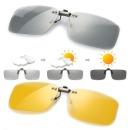 변색 편광 클립선글라스 안경 클립형 썬글라스 P3008